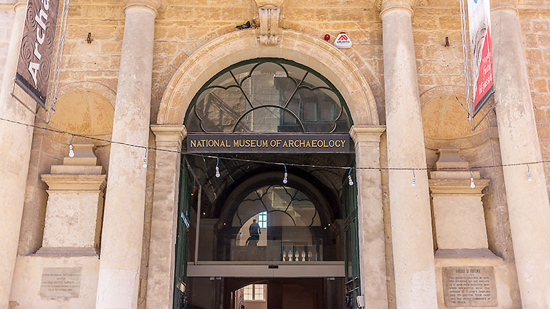 National Museum of Archaeology, Valletta - Bells Abroad